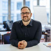 Dr. Ralf Lottmann, 2013 bis 2017 an der ASH Berlin, nun in England. Foto: Alexander Rentsch