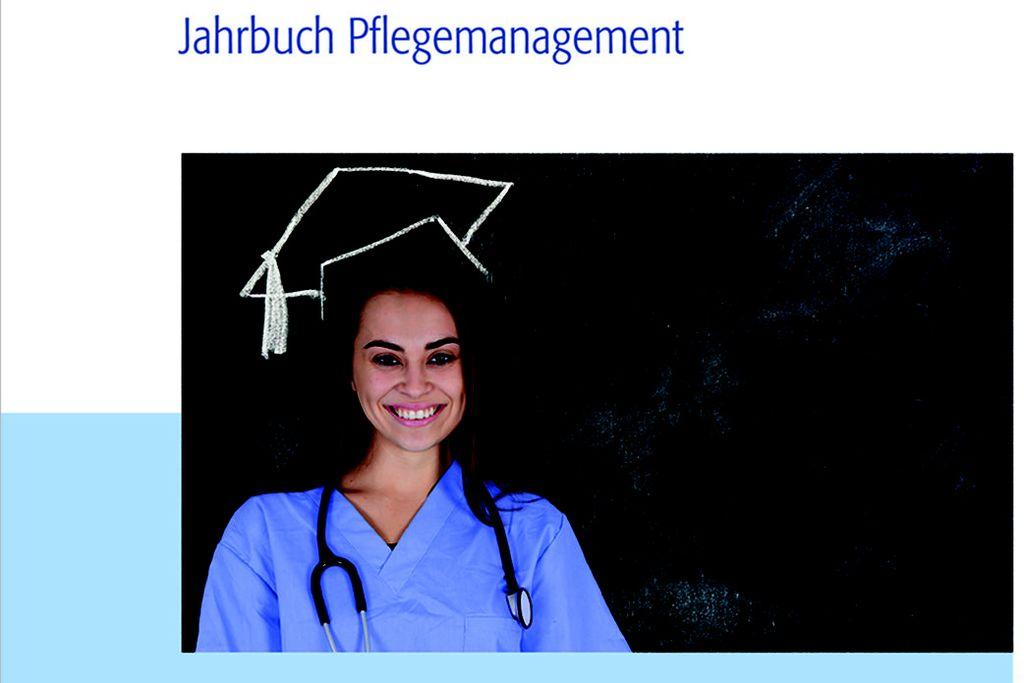 Vergrößern: Cover mit Frau in blauem Ärztekittel und Stetoskop um den Hals