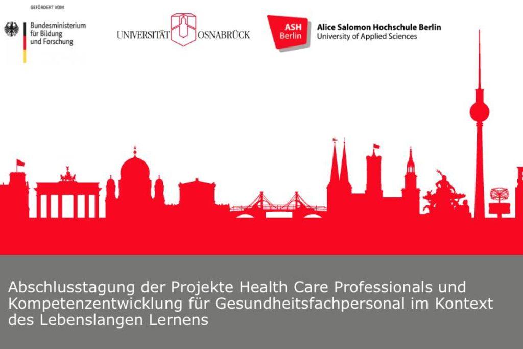 Vergrößern: Plakat mit der Berliner Skyline in rot